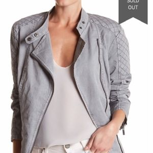 BNCI by Blanc Noir Quilted Moto Jacket